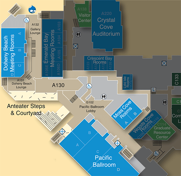 Conference Center map