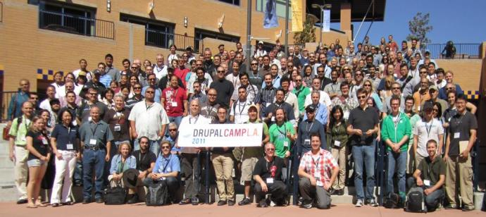 DrupalCamp LA 2011 Group photo